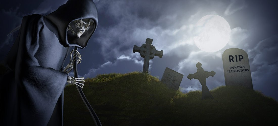 A Funeral for Signature-Based Card Transactions